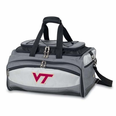 Virginia Tech Buccaneer Tailgating Embroidered Cooler (Black)