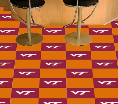 Virginia Tech Carpet Tiles
