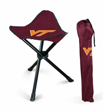 Virginia Tech Collapsable Stool