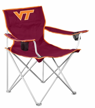 Virginia Tech Deluxe Adult Folding Logo Chair