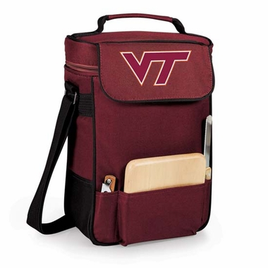 Virginia Tech Duet Compact Picnic Tote (Burgundy)