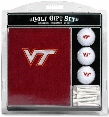 Virginia Tech Embroidered Towel Gift Set