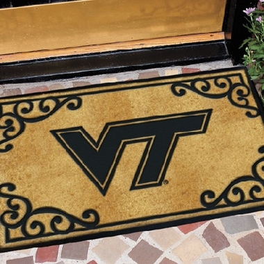 Virginia Tech Exterior Door Mat