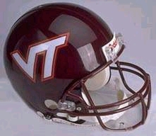 Virginia Tech Hokies Riddell Deluxe Replica Helmet