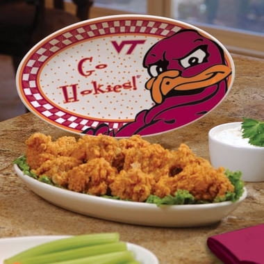 Virginia Tech Gameday Ceramic Platter
