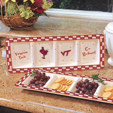Virginia Tech Gameday Relish Tray