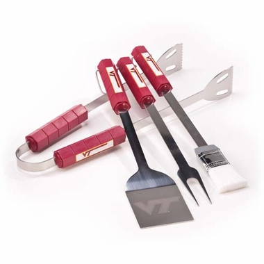 Virginia Tech Grill BBQ Utensil Set