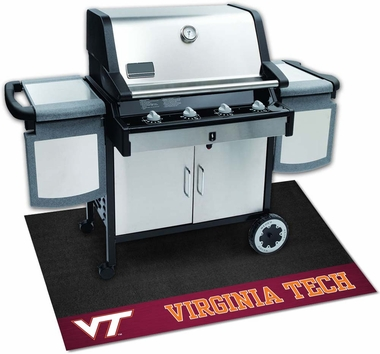 Virginia Tech Grill Mat