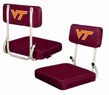 Virginia Tech Hard Back Stadium Seat