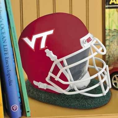 Virginia Tech Helmet Shaped Bank