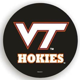 Virginia Tech Hokies Black Spare Tire Cover (Small Size)