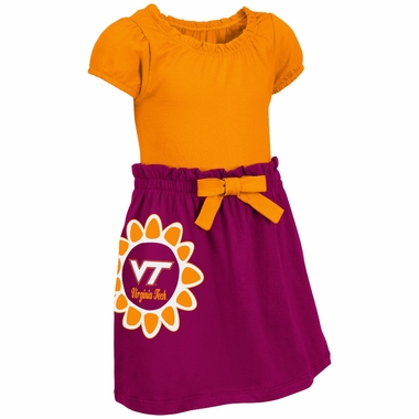 Virginia Tech Hokies NCAA Toddler Girls Daisy Dress