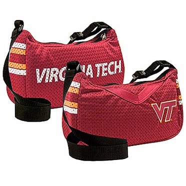 Virginia Tech Jersey Material Purse