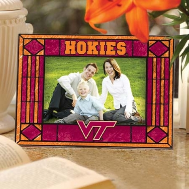Virginia Tech Landscape Art Glass Picture Frame