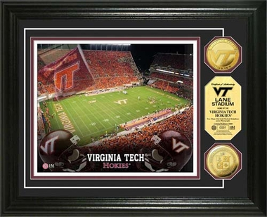 Virginia Tech Hoakies Virginia Tech Gold Coin Photo Mint