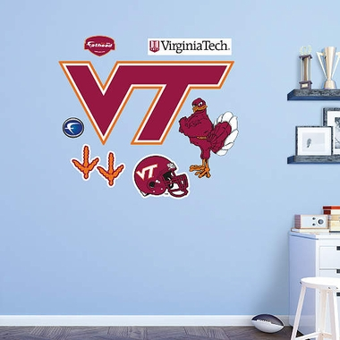 Virginia Tech Logo Fathead Wall Graphic