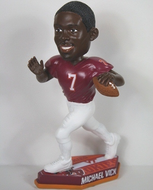 Virginia Tech Michael Vick Thematic Base Bobblehead
