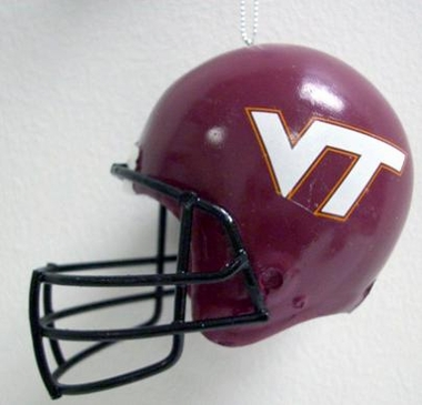 Virginia Tech Mini Helmet Ornament