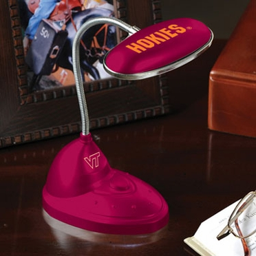 Virginia Tech Mini LED Desk Lamp