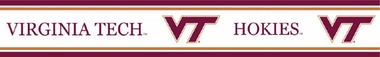 Virginia Tech Peel and Stick Wallpaper Border