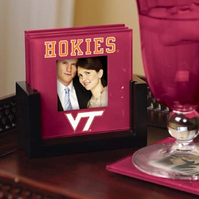 Virginia Tech Photo Coaster Set