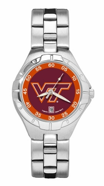 Virginia Tech Pro II Women's Stainless Steel Watch