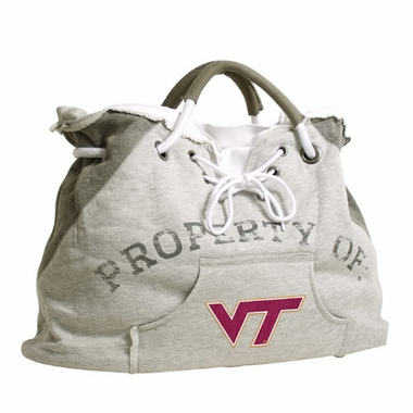 Virginia Tech Property of Hoody Tote