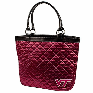 Virginia Tech Quilted Tote