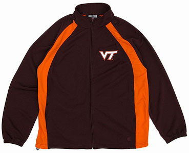 Virginia Tech Rival Full Zip Lightweight Jacket - Small