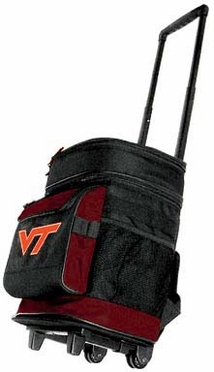Virginia Tech Rolling Cooler
