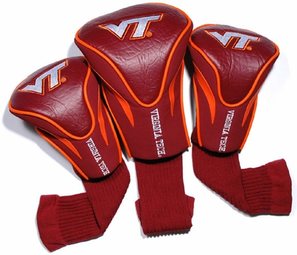Virginia Tech Set of Three Contour Headcovers