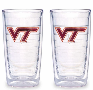 Virginia Tech Set of TWO 16 oz. Tervis Tumblers