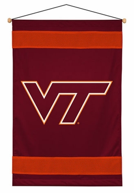 Virginia Tech SIDELINES Jersey Material Wallhanging