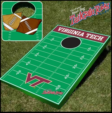 Virginia Tech Tailgate Toss Cornhole Beanbag Game