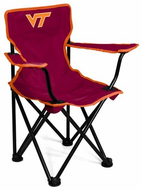 Virginia Tech Toddler Folding Logo Chair
