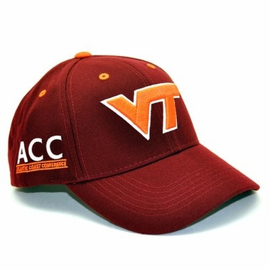Virginia Tech Triple Conference Adjustable Hats