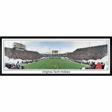 Virginia Tech Virginia Tech Hokies Framed Panoramic Print