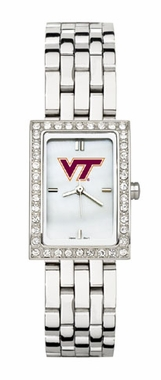 Virginia Tech Women's Steel Band Allure Watch