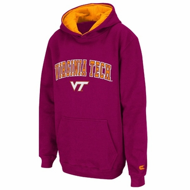 Virginia Tech YOUTH Automatic Hooded Sweatshirt