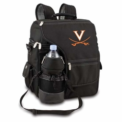 Virginia Turismo Embroidered Backpack (Black)