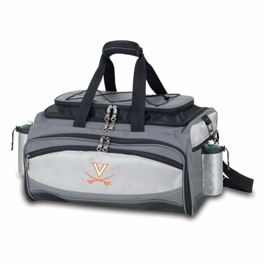 Virginia Vulcan Embroidered Tailgate Cooler (Black)