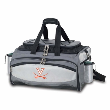 Virginia Vulcan Tailgate Cooler (Black)