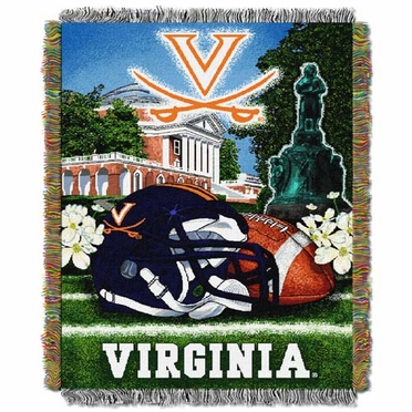 Virginia Woven Tapestry Blanket