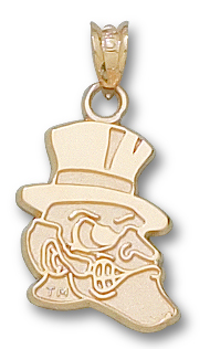 Wake Forest 10K Gold Pendant