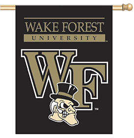 "Wake Forest Demon Deacons 27""x37"" Banner"