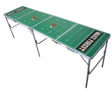 Wake Forest 2x8 Tailgate Table