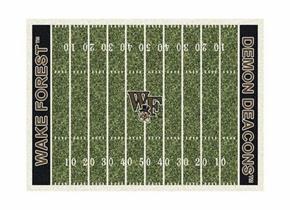 "Wake Forest 3'10"" x 5'4"" Premium Field Rug"