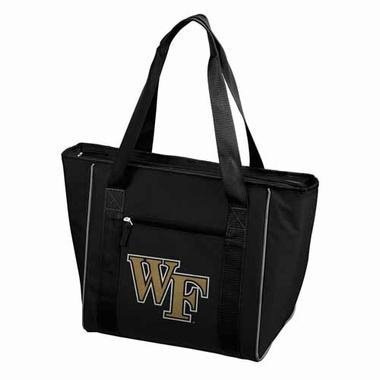 Wake Forest 30 Can Tote Cooler