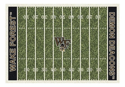 "Wake Forest 5'4"" x 7'8"" Premium Field Rug"