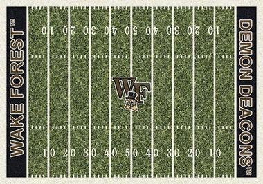 "Wake Forest 7'8"" x 10'9"" Premium Field Rug"